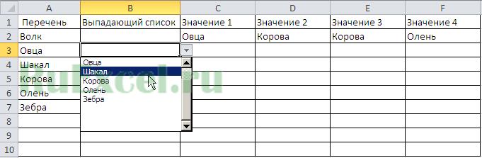 Как в эксель сделать раскрывающийся список плюсик